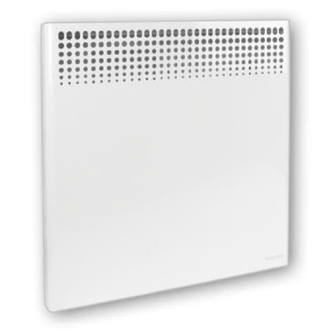 """31"""" White Wall Mounted Convector Heater with Built-In Electronic Thermostat"""