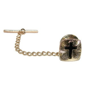 CTM® Men's Cross Tie Tac - One size