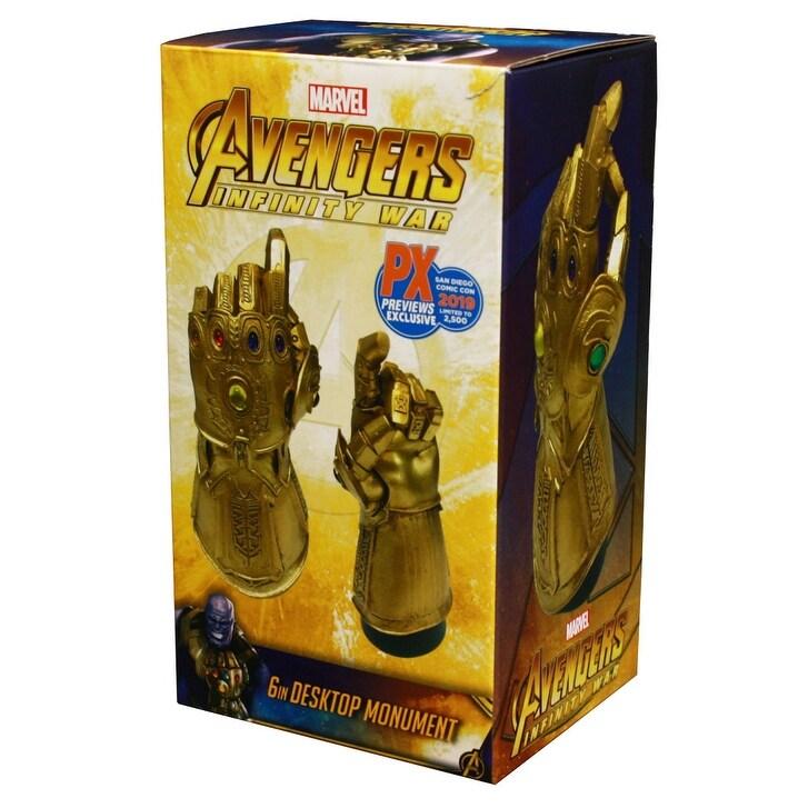Marvel Avengers Infinity War Infinity Gauntlet Desk Monument PX SDCC Exclusive