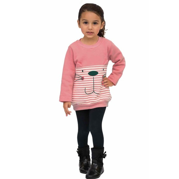 Pulla Bulla Toddler Girls' Graphic Sweatshirt