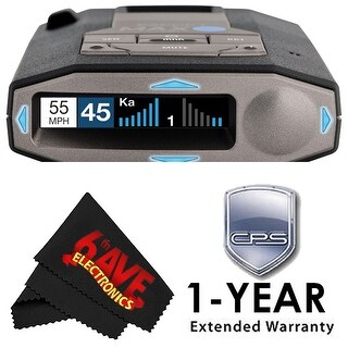 Escort 0100037-1 Max 360C Radar Laser Detector with Wi-Fi + Escort Smart Direct Power Cord + 1-Year Extended Warranty Bundle