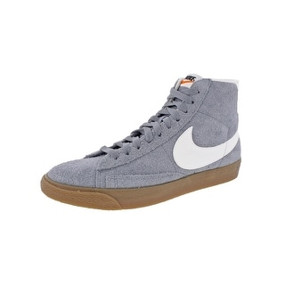 new arrival aa826 20bda Shop Nike Womens Blazer Mid Suede Vintage Fashion Sneakers Retro High Top -  Ships To Canada - Overstock - 22312692