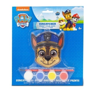 Paint a Character Paw Patrol Chase- Suncatcher Party Favor