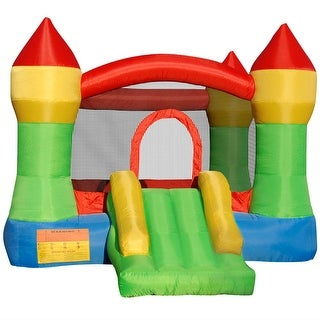 Cloud 9 Mighty Bounce House - Inflatable Kids Jump Castle without Blower