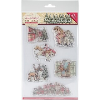 Traditional Christmas - Find It Trading Yvonne Creations Clear Stamp