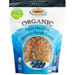 New England Naturals - High Protein Blueberry Granola ( 6 - 12 oz bags)
