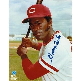 Autographed George Foster Cincinnati Reds 8x10 Photo