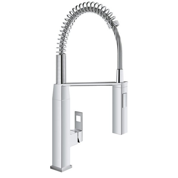 Shop Grohe 31 401 Eurocube Pre Rinse Kitchen Faucet With 2 Function