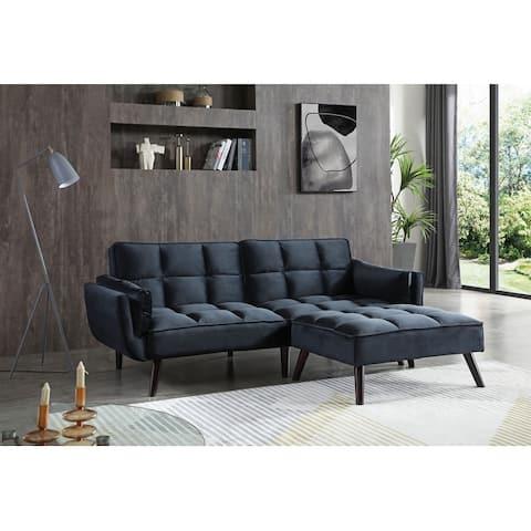 Laurel Tufted Velvet Sofa Bed