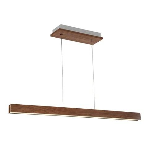 "Modern Forms PD-58756 Drift Single Light 56"" Wide Integrated LED Linear Chandelier"