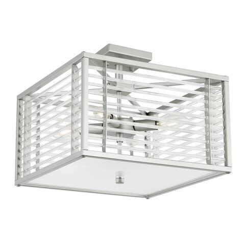 Light Society Malin 4-Light Square Ceiling Light