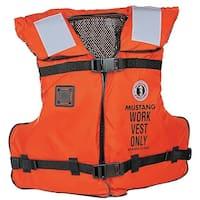 Mustang Work Vest w/Solas Tape