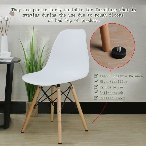 4pcs Adjustable Furniture Leg Levelling Glides Table Feet Leveler M10x100mm