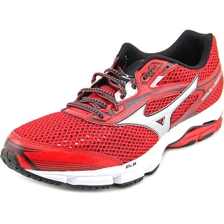 Mizuno Wave Legend 3 Men Round Toe Synthetic Red Running Shoe