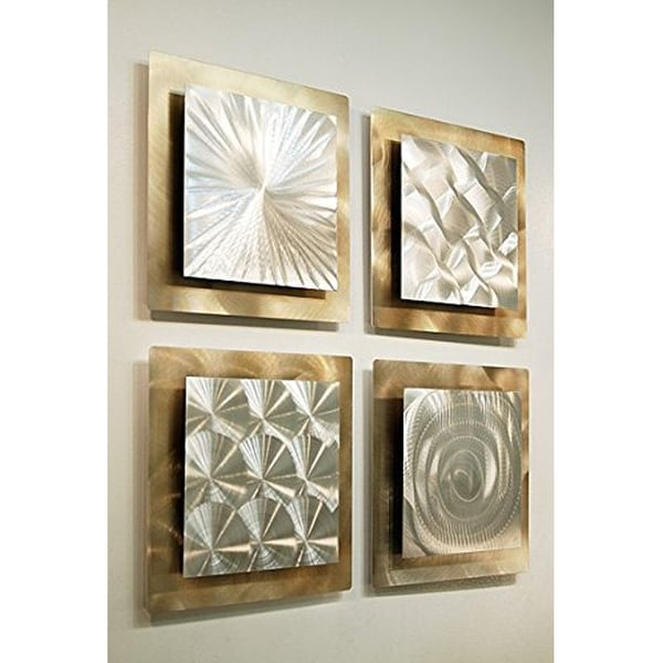 Shop Statements2000 Gold/Silver Metal Wall Art Accent Sculpture by ...