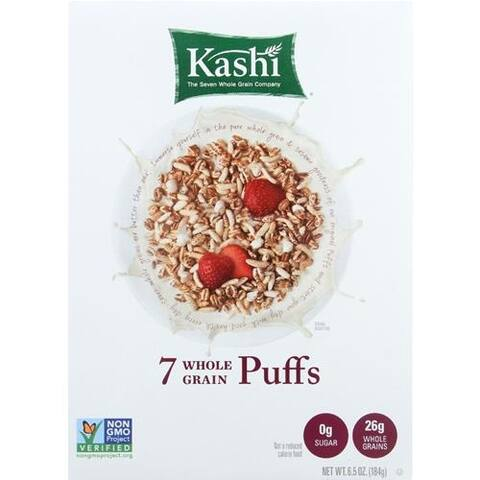 Kashi - 7 Whole Grain Puffs Cereal ( 10 - 6.5 OZ)