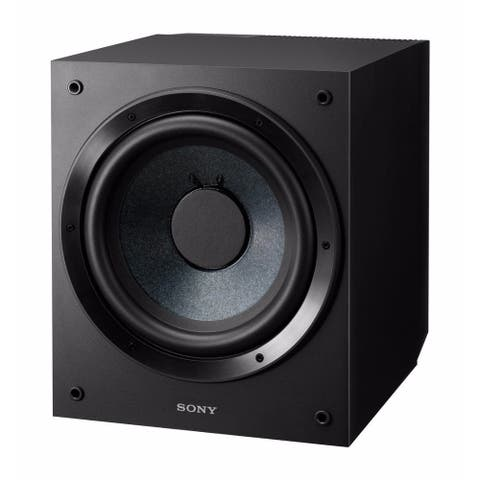 Sony 10-Inch Active Subwoofer (Black)