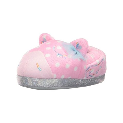 Trimfit Girls Magical Pony Novelty Slippers Polka Dot Casual