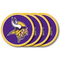 Minnesota Vikings Coaster 4 Pack Set