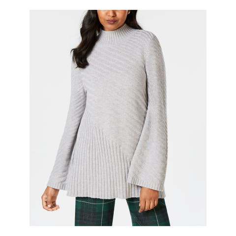 CHARTER CLUB Womens Gray Long Sleeve Turtle Neck Sweater Size XS