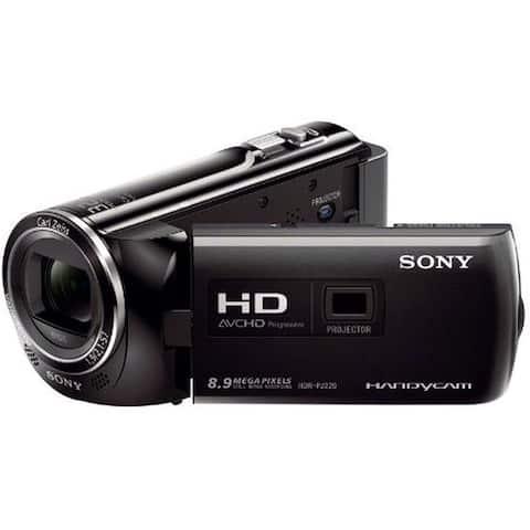 Sony PJ220, HDR-PJ220 Full HD Handycam X 27 Optical Zoom and Built-in