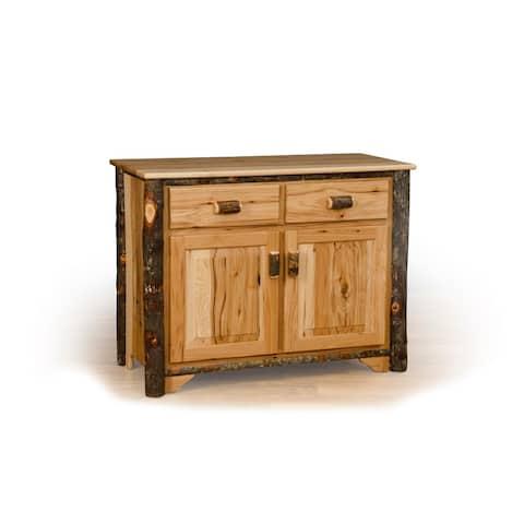 Hickory Log 2 Door Buffet