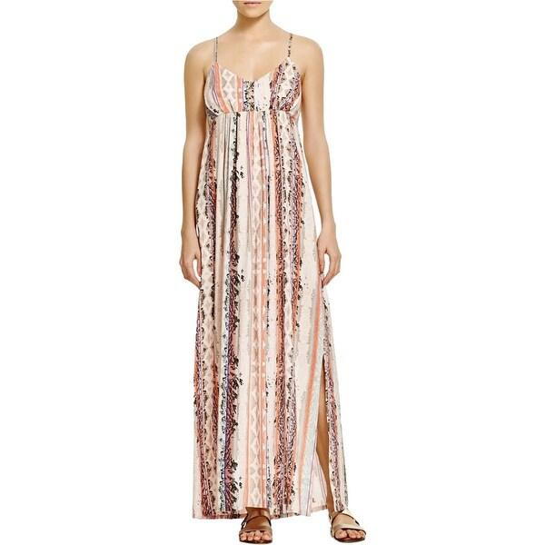 ea6ce24158 Shop Karen Kane Womens Aquarius Maxi Dress Snake Print Spaghetti Straps - Free  Shipping On Orders Over  45 - Overstock - 16071032