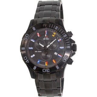 Swiss Precimax Men's Armada Pro SP13051 Black Stainless-Steel Dress Watch