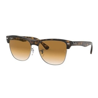 Link to Ray-Ban RB4175 Clubmaster 57mm Sunglasses (Tortoise/Brown Gradient) Similar Items in Women's Sunglasses