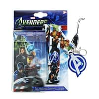Marvel Avengers Lanyard With Removable Charm - Multi