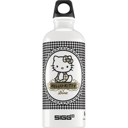Sigg Water Bottle - Hello Kitty Pepita - .6 Liters Water Bottles