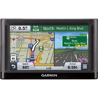 "Garmin nuvi 56LMT Automobile Portable GPS Navigator - 5"" - (Refurbished)"