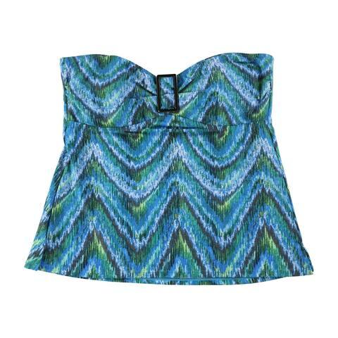 Island Escape Womens Printed Bandini Swim Top