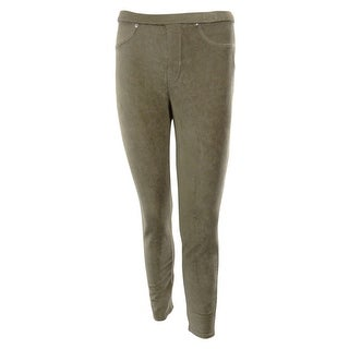 Style & Co. Women's Corduroy Full Length Leggings