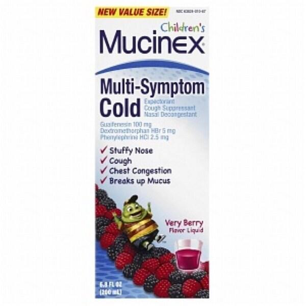 Mucinex Kids Multi-Symptom Cold 6.8 oz