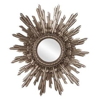 "Howard Elliott 84008 Chelsea Antique Silver Starburst 26"" x 20"" Mirror"
