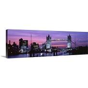 Premium Thick-Wrap Canvas entitled England, London, Tower Bridge