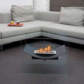 Bio-Blaze Veniz Bio-Ethanol Fireplace - Black
