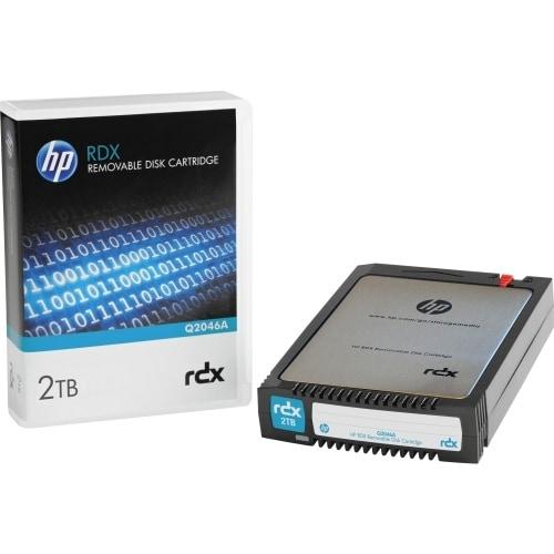 Hewlett Packard Q2046A HP 2 TB 2.5 RDX Technology Hard Drive Cartridge - 5400 -