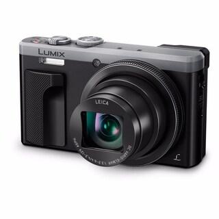 Panasonic Lumix DMC-ZS60 Digital Camera International Model (Option: Silver)