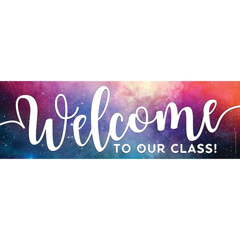 Tnt magnetic welcome banner galaxy 10598