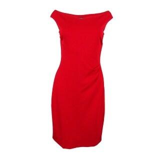 Lauren Ralph Lauren Women's Off the Shoulder Dress