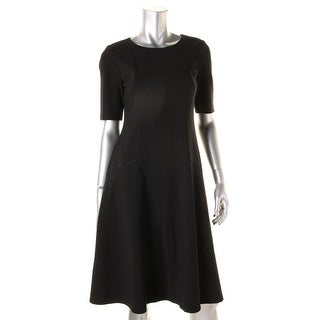 Lafayette 148 Womens Knit Pocket Wear to Work Dress