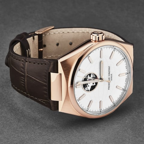 Frederique constant men's 'heart beat' automatic watch fc-310v4nh4
