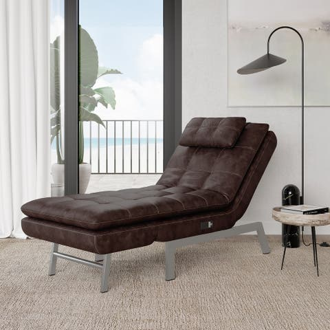 Relax A Lounger Andrea Convertible Chaise by iLounge