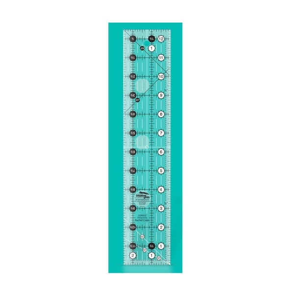 """Creative Grids Quilt Ruler 2-1/2in x 12-1/2in - 2.5"""" x 12.5"""" x 0.25"""". Opens flyout."""