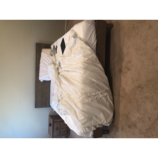 Kotter Home Barnwood Platform Bed Frame and Headboard