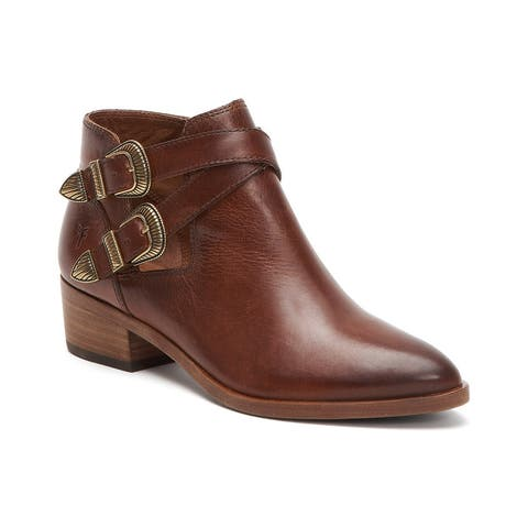 Frye Ray Western Leather Shootie