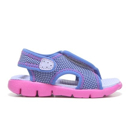 1668b107d474 Shop Nike Toddler s Girl s SUNRAY ADJUST 4 Sandal - Hydrangea - Free  Shipping Today - Overstock - 15060253