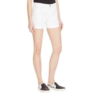 Vince Womens Mason Denim Shorts Cuffed Colored - 29